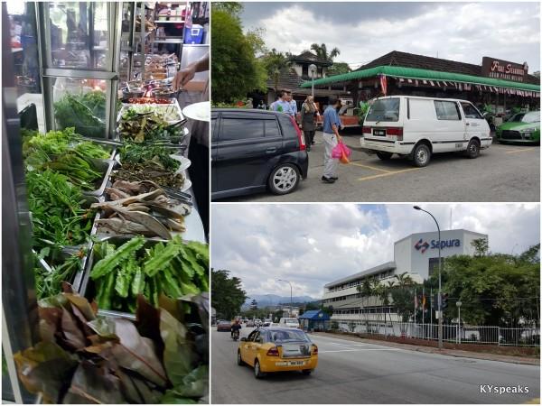 Warisan Rasa Kuale (ribu ribu) at Medan Selera Taman Keramat