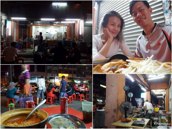 late night dinner at restoran TSY