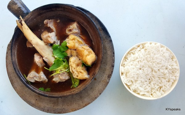 big bone - single serving clay pot bak kut teh