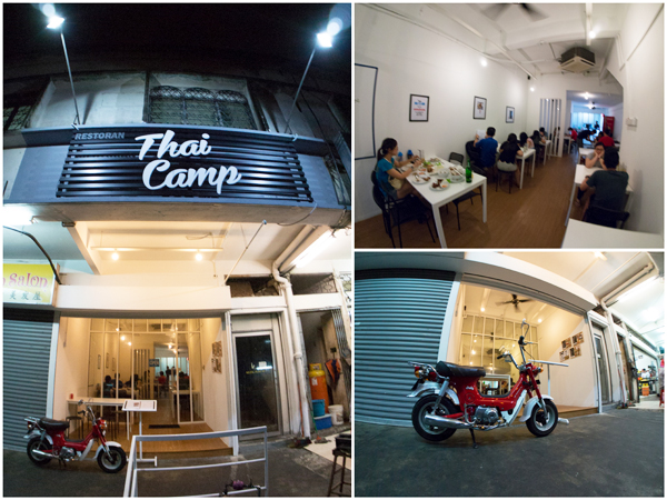 Thai Camp is situated next to restaurant Mei Yun, Taman Paramount