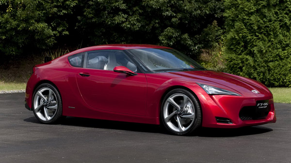 Toyota FT-86 concept sports car