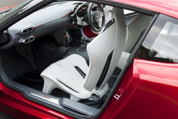 interior of Toyota FT-86