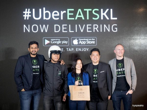 UberEATS, officially launched