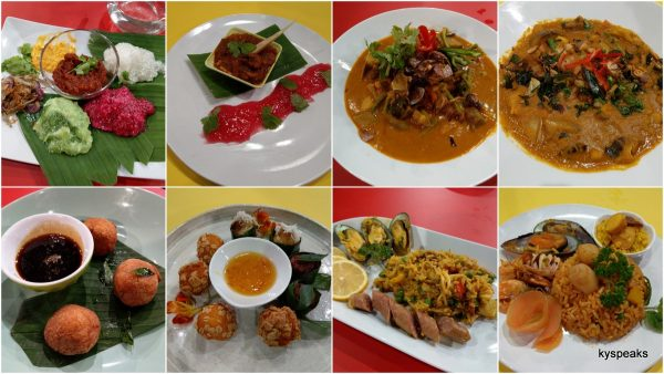 dishes from the contestants for judges to sample