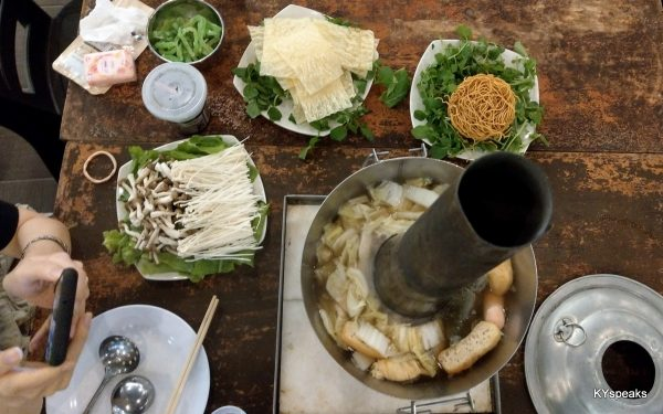 vegetarian steamboat set