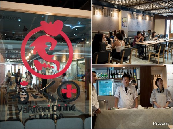 Yakitori Dining Fukuda at Evolve Concept Mall, Ara Damansara