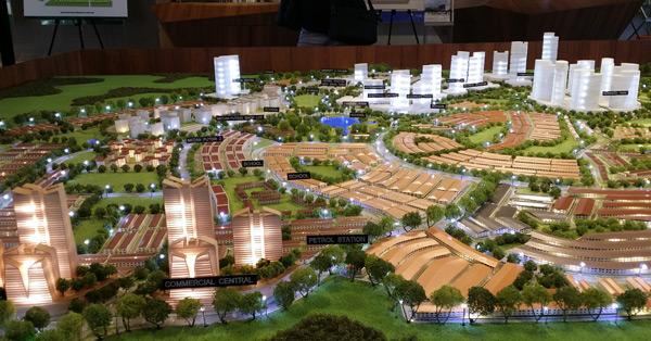 Acacia Park Rawang township model