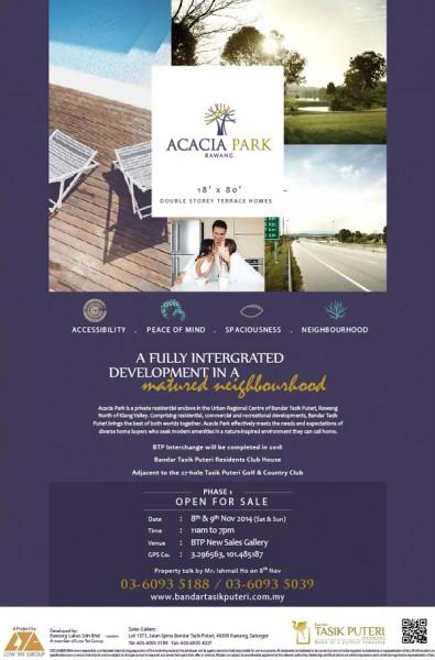 Acacia Park brochure