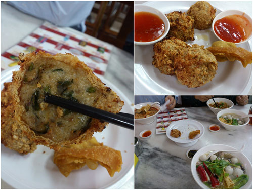 some deep fried goodness as side dishes