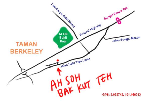 Kyspeaks tag jalan batu tiga lama map to ah soh bak kut teh jalan batu tiga lama ccuart Images