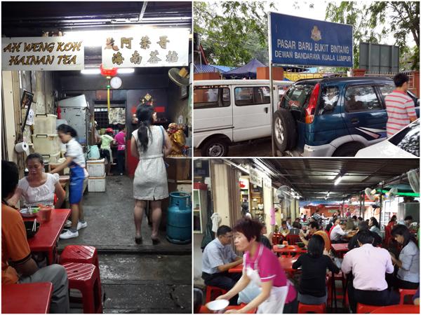 Ah Weng Koh at Imbi market (Pasar Baru Bukit Bintang)