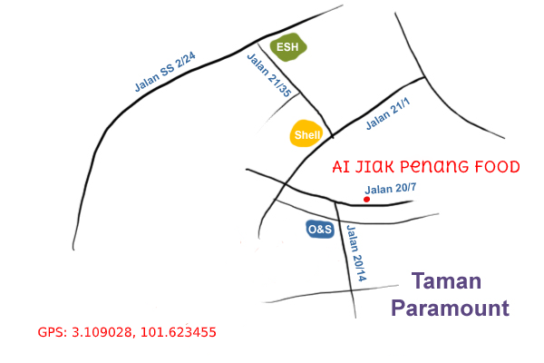 ai jiak penang food map