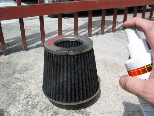 Cleaning Open Pod Air Filter