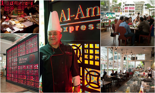 Al Amar Express at Fahrenheit 88