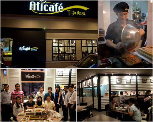 Alicafe Tiga Rasa restaurant, at USJ Taipan