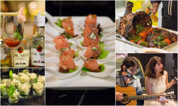 some of the foods during the launch of Amadeus Bistro & Wine Bar
