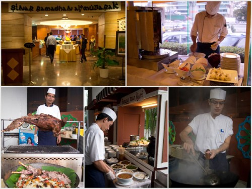 buka puasa at Armada's Utara Cafe - Sinar Ramadhan Al-Mubarak