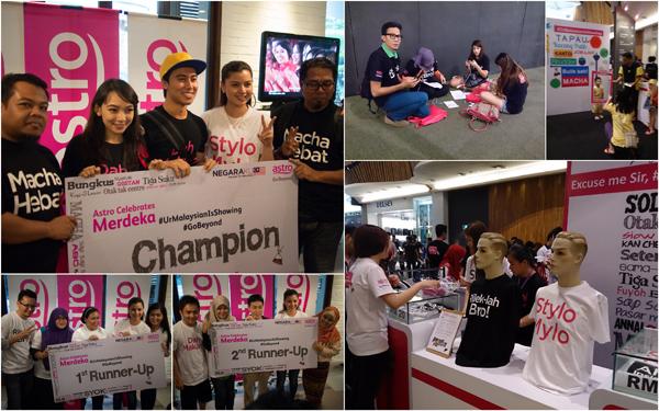 #UrMalaysianIsShowing tweeting challenge winners