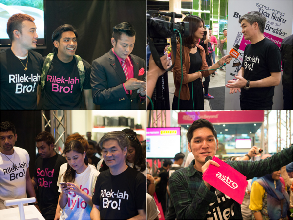 celebrity sightings at Astro Negaraku'13 event at Midvalley Megamall