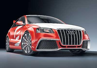 Audi A3 Clubsport quattro concept car
