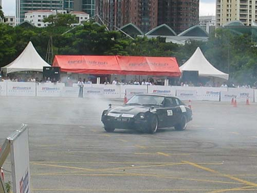 Autocross KLCC 2005, Crazy Fairlady Run