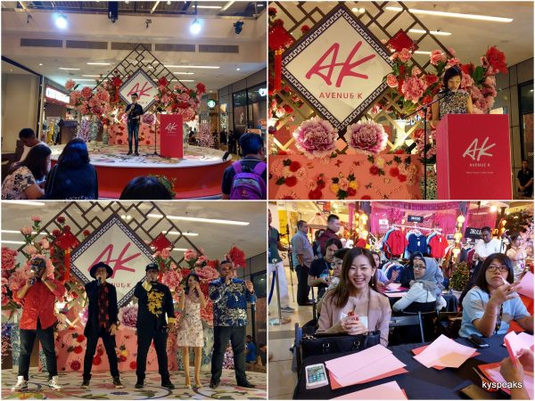 Flower Power CNY At Avenue K