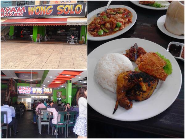 Ayam Bakar Wong Solo at Ampang