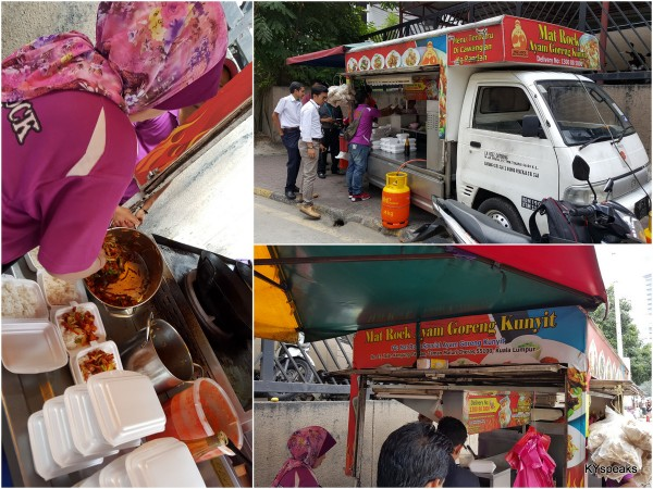 ayam kunyit mat rock is the original food truck