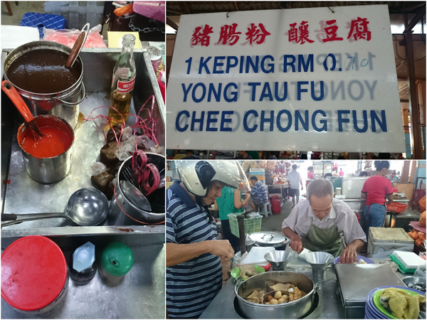 the yong tau foo stall has been in operation for some 30-40 years