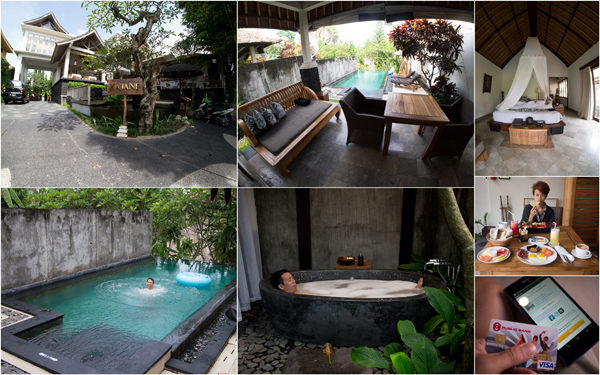 our private pool villa at Kajane, so I can skinny dip :D