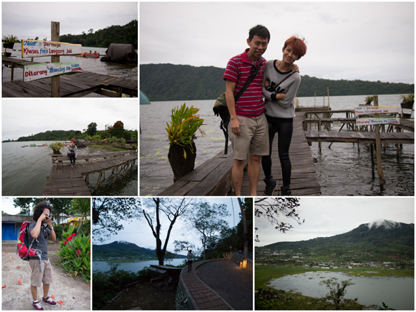 Danau Beratan is at around 1200+ meters up, as high as Genting Highland