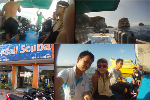 boat transfer from Sanur to Nusa Penida