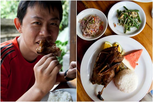 bebek bengil, the original crispy duck