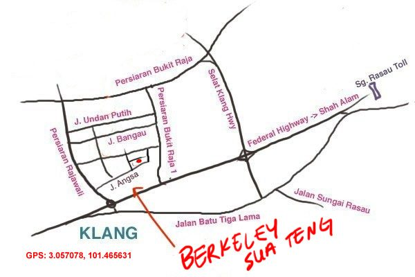 map to Berkeley Sua Teng kuih teow soup