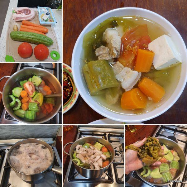 bitter gourd tofu soup recipe