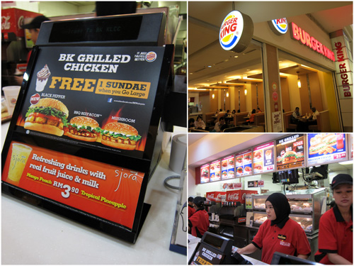 Burger King at KLCC