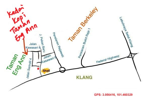 map to taman eng ann bak kut teh