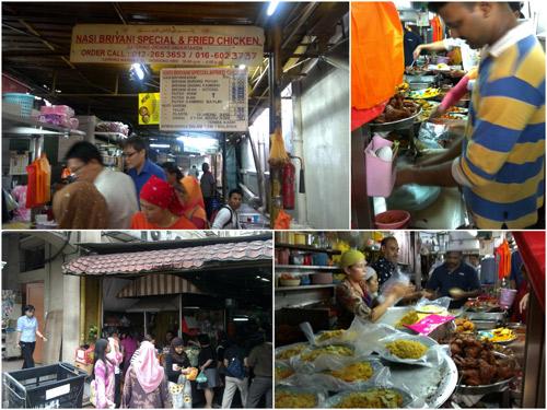 Nasi Briyani at Lorong Bandar 13