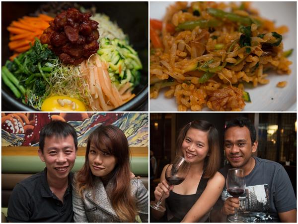 chicken bibimbap, KY, Haze, Hitomi, Marcus