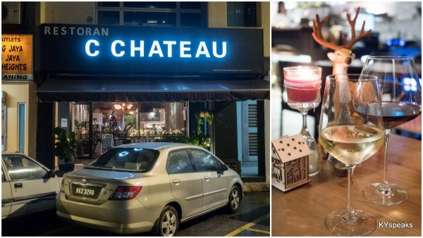 C Chateau wine bar at Kuchai Lama