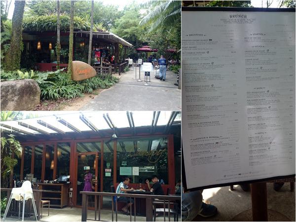 Canopy Garden Dining at Ang Mo Kio