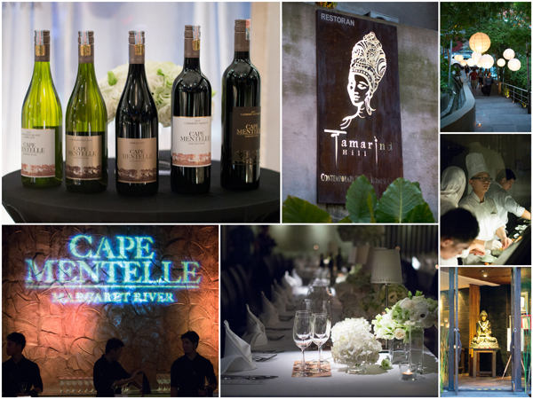 Cape Mentelle wine and food pairing at Neo Tamarind, KL