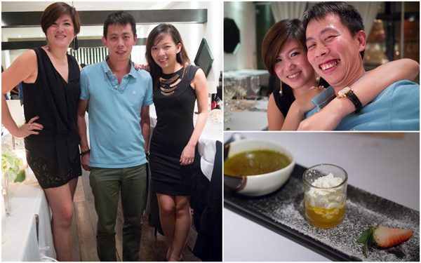 with Eiling & WeiZhi, green tea creme brulee