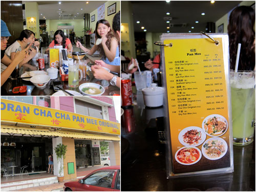 Cha Cha Pan Mee at Aman Suria