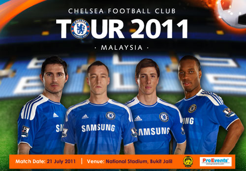 Chelsea Tour Malaysia 2011