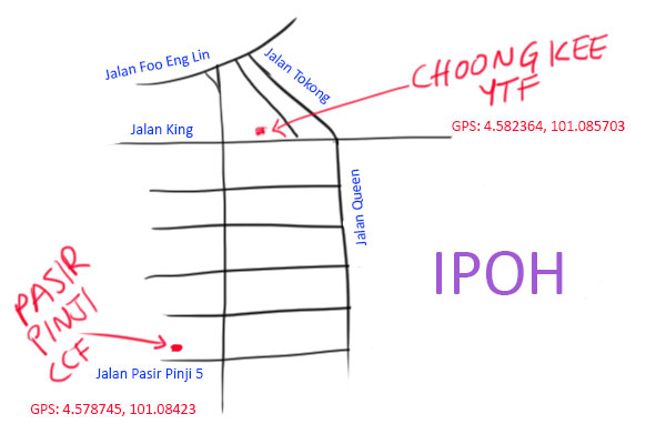 choong kee ipoh map