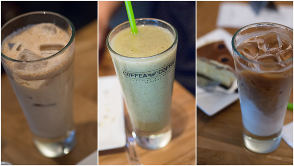 iced chocolate, smoothie, iced latte