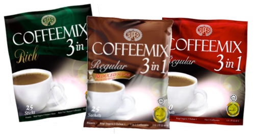 Coffeemix 3 in 1 coffee variants