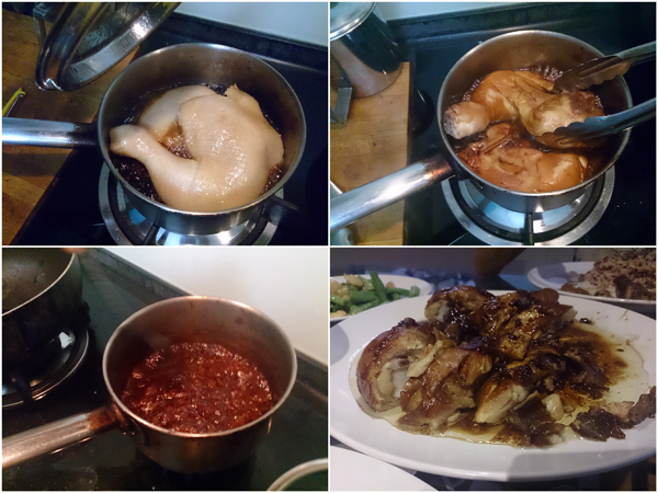 soya sauce chicken, easy to prepare and delicious to eat