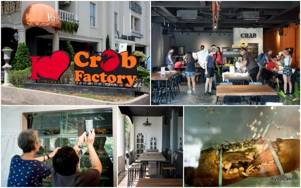 Crab Factory at Little Paris, Johor Bahru